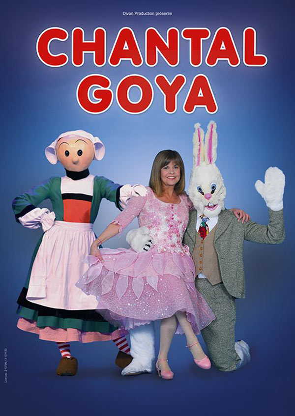 gratuitement spectacle chantal goya