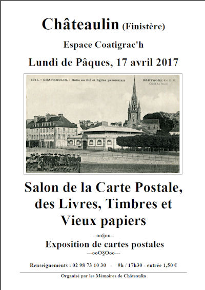10 me salon de la carte postale ch teaulin 17 04 2017 for Salon carte postale