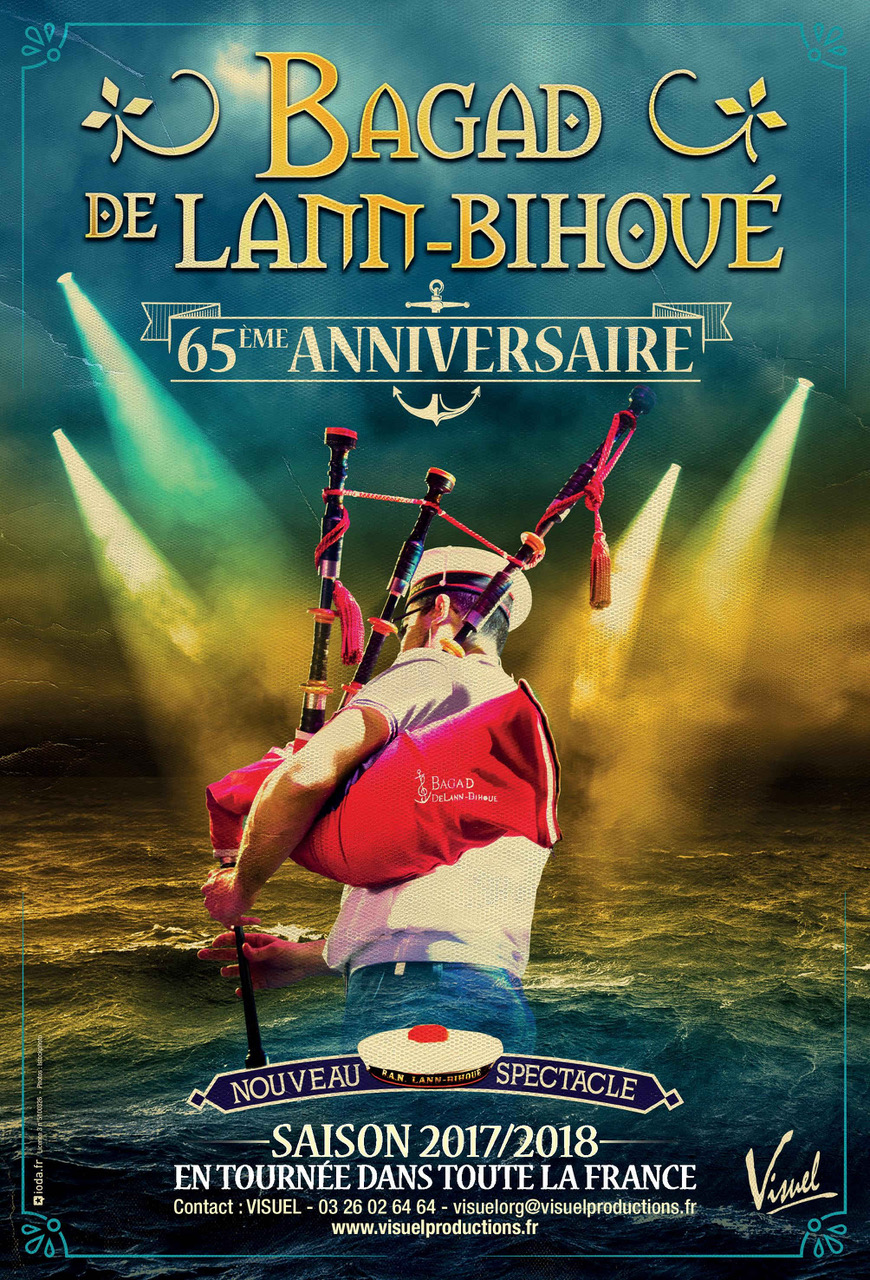 Spectacle 65 me anniversaire du bagad de lann bihou for Garage ad st coulomb