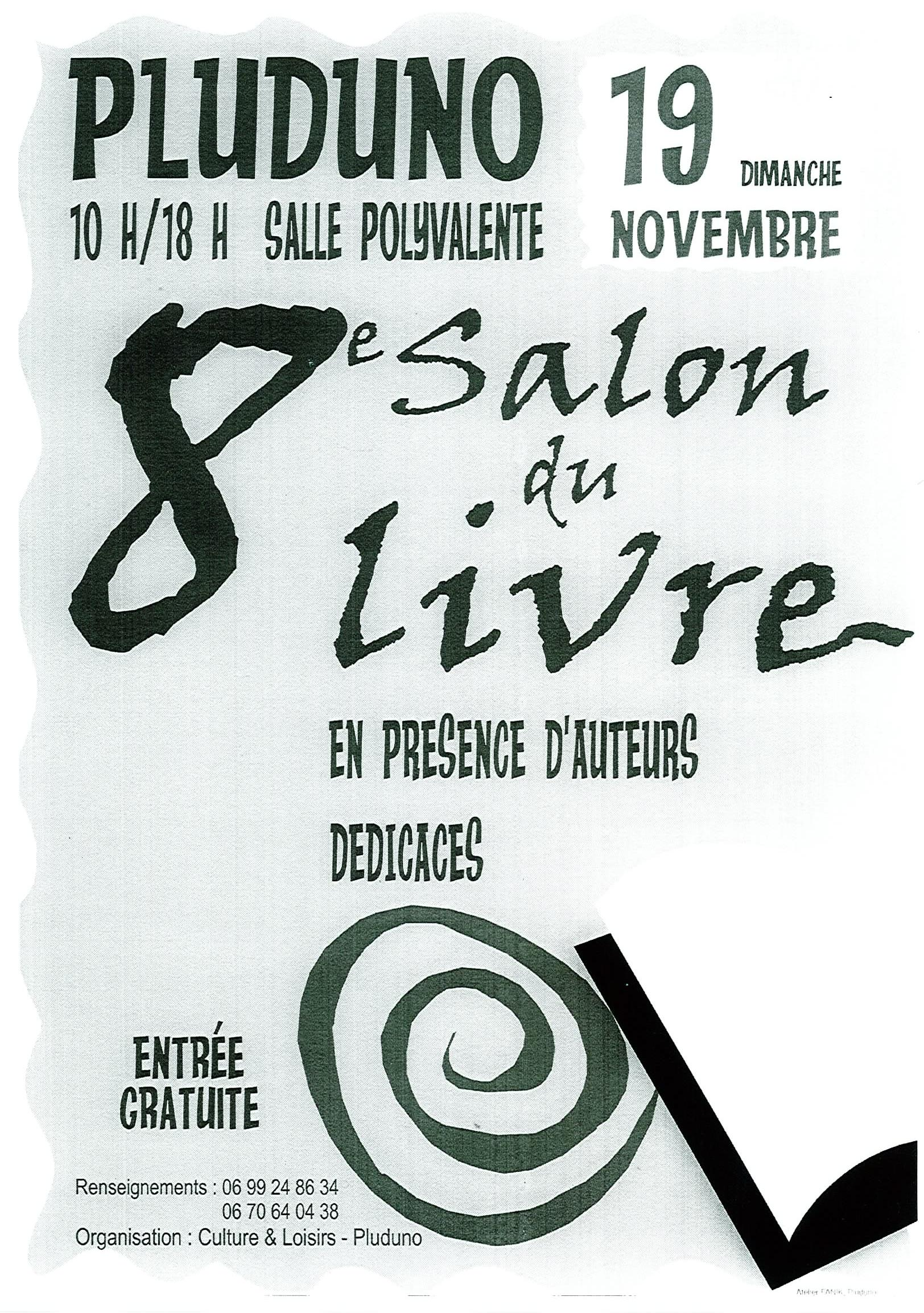 Salon du livre pluduno 19 11 2017 10h00 forum for Salon du livre 2017